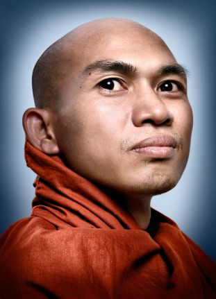 King Zero, burmese monk