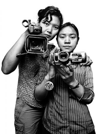 Thiri Htet San & Moe Zin, Democratic Voice of Burma broadcast journalists
