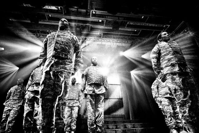 The US Army Soldier show