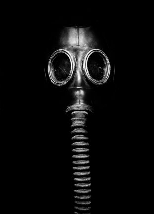 gas mask used as a torture device known as 'the elephant'
