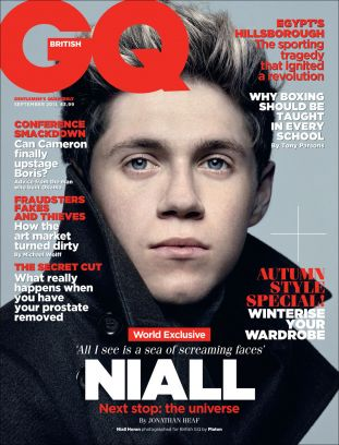 gq uk, one direction (niall horan)