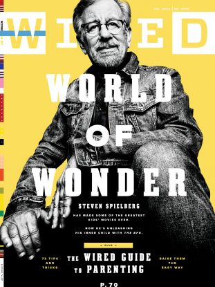steven spielberg, wired cover