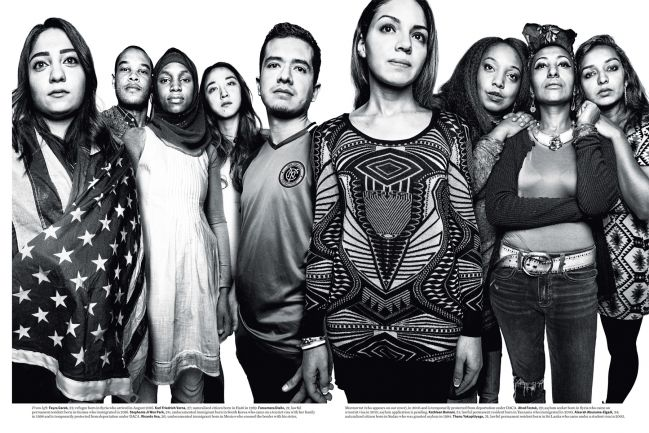 new york magazine, immigration spread two